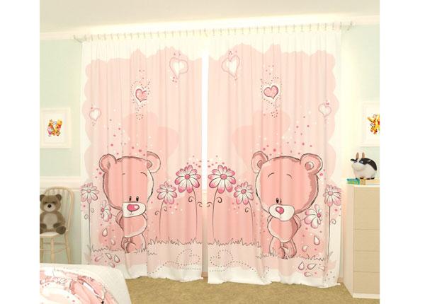 Fotokardinad Pink Bears 300x260 cm AÄ-133418