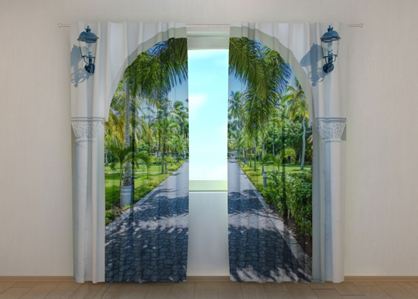 Poolpimendav kardin Arch to the alley 240x220 cm ED-133706
