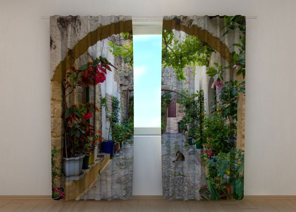 Poolpimendav kardin Arches in Flowers 240x220 cm ED-133711