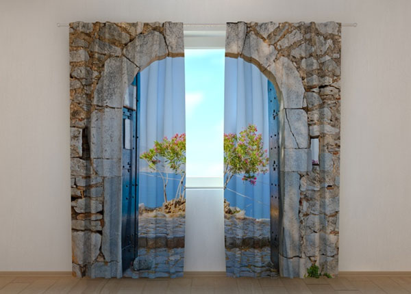 Pimendav kardin Archway to the Sea 240x220 cm ED-133721
