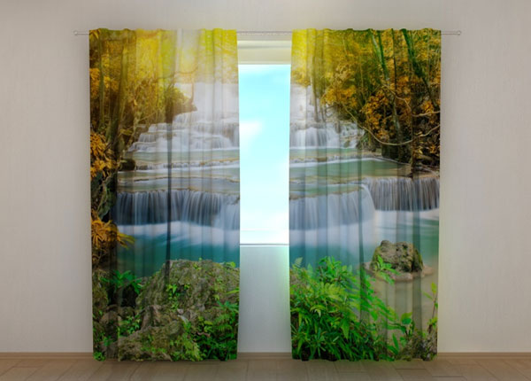 Poolpimendav kardin Autumn waterfall, 240x220 cm ED-133742