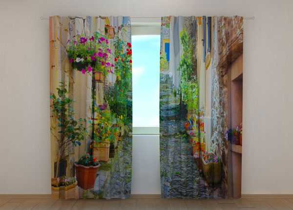 Poolpimendav kardin Back Street in Flowers 240x220 cm ED-133749