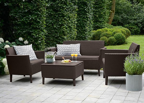 Комплект садовой мебели Keter Salemo, коричневый