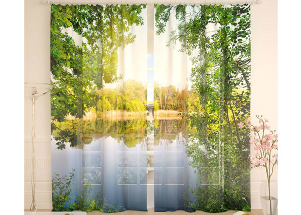 Tüllkardinad A Quiet River 290x260 cm AÄ-134087