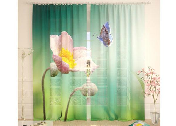 Тюлевые занавески Flower and Butterfly 290x260 cm AÄ-134090