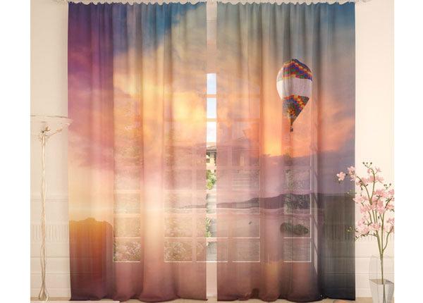 Тюлевые занавески Balloon and Ocean 290x260 cm AÄ-134095