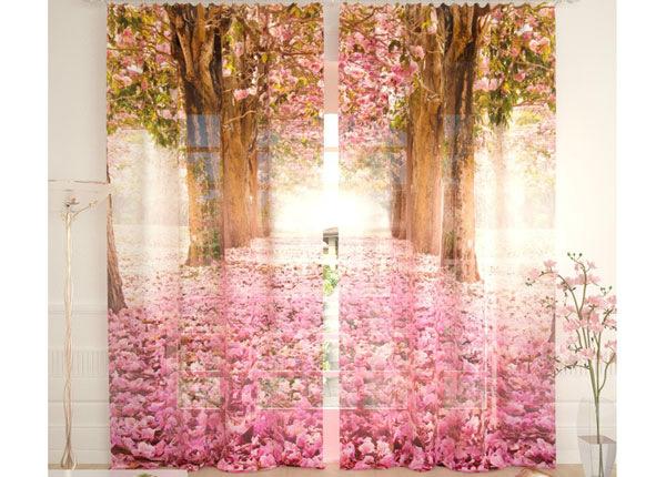 Tylliverhot FLOWER ALLEY 290x260 cm AÄ-134104
