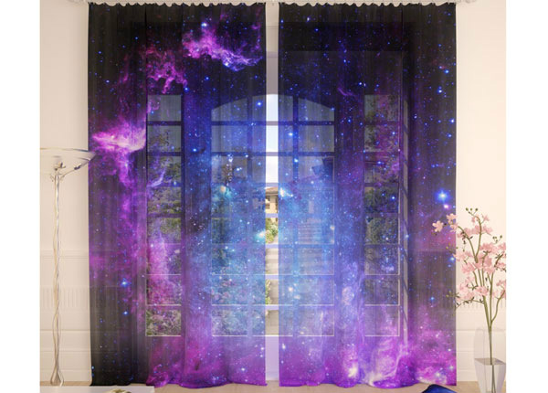 Tüllkardinad Purple Sky 290x260 cm AÄ-134133