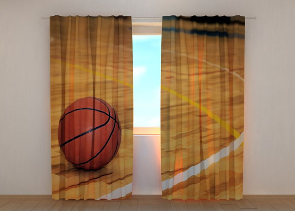 Полузатемняющая штора Basketball 240x220 см ED-134166