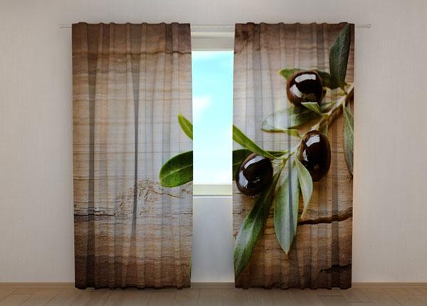 Pimendav kardin Black Olives 240x220 cm ED-134201
