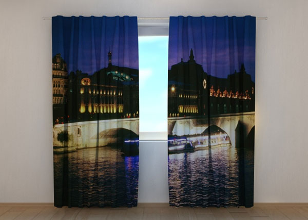 Poolpimendav kardin Bridge in Venice 1, 240x220 cm ED-134231