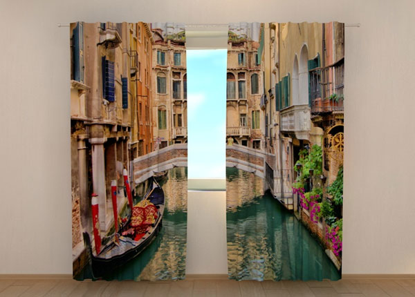 Pimennysverho BRIDGE IN VENICE 240x220 cm ED-134236