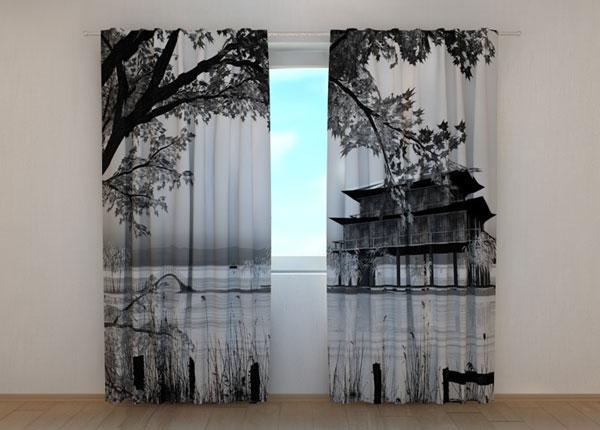 Полузатемняющая штора Chinese Landscape ED-134264