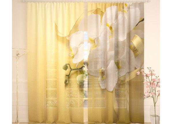 Tylliverhot WHITE ORCHID 290x260 cm AÄ-134283