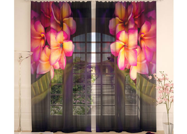 Tylliverhot PLUMERIA IN THE NIGHT 290x260 cm AÄ-134288