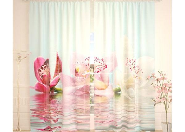 Tüllkardinad Lilies on the Water 290x260 cm AÄ-134300