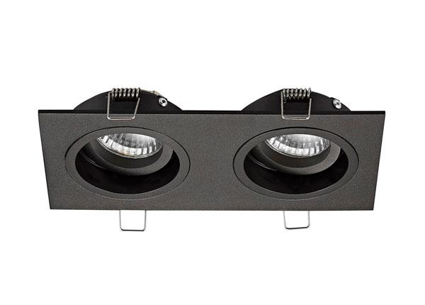 Встраиваемый потолочный светильник Chuck Black DL2 A5-134559
