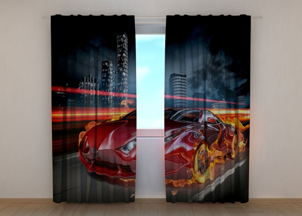 Затемняющая штора Fiery Supercar ED-134662