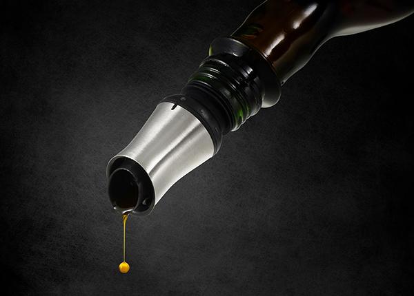 Öljy- ja etikkapullon korkki
