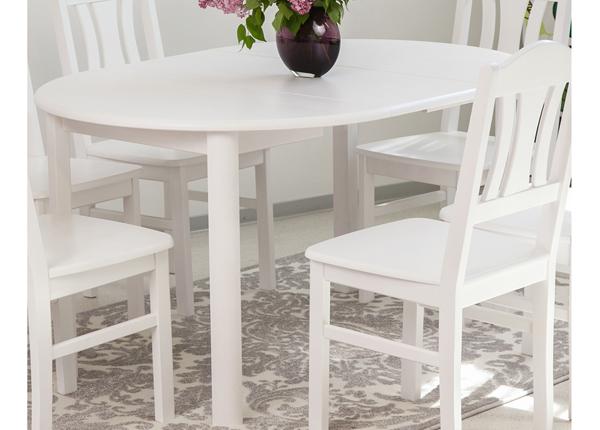 Удлиняющийся обеденный стол Ada2 100x100-178 cm