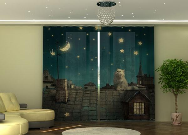 Полузатемняющая штора Cats ED-135539