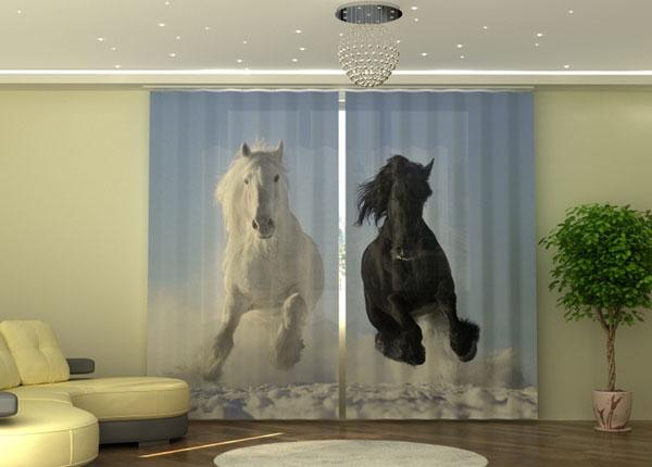 Полузатемняющая штора Horse ED-135542