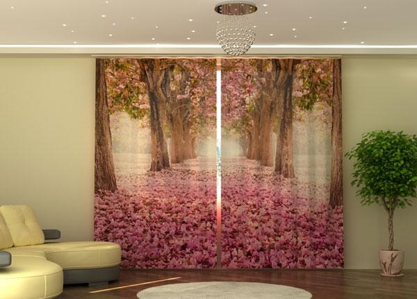 Полузатемняющая штора Magnolias alley ED-135546