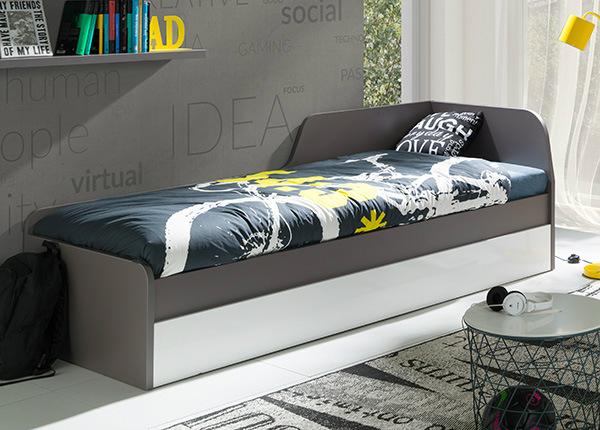 Pesukastiga voodi 80x200 cm