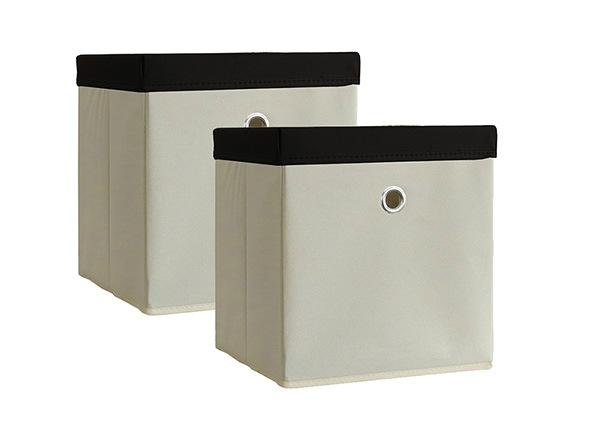 Kannelliset säilytyslaatikot BOXAS, 2 kpl