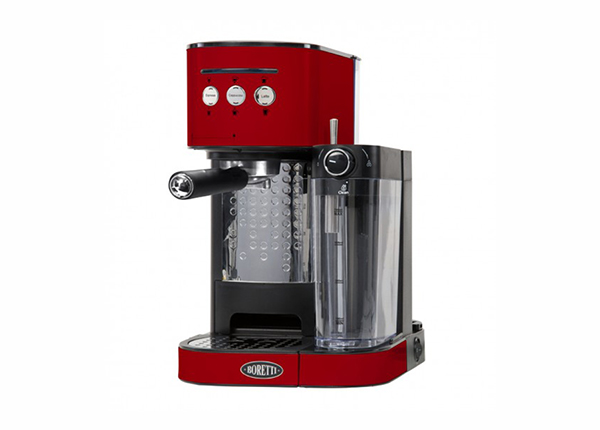 Espressomasin piimavahustajaga Boretti MR-135901