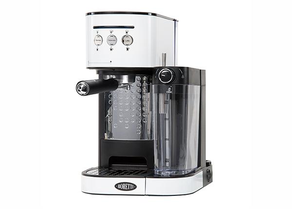 Espressomasin piimavahustajaga Boretti