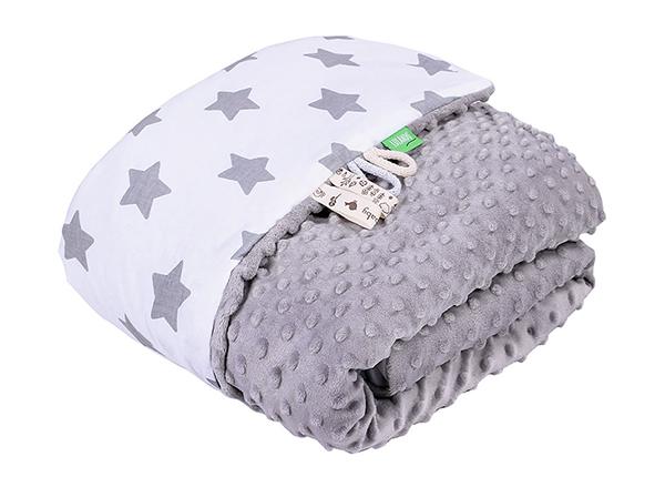 Детское одеяло Lulando Minky 100x80 см, серое GB-135926