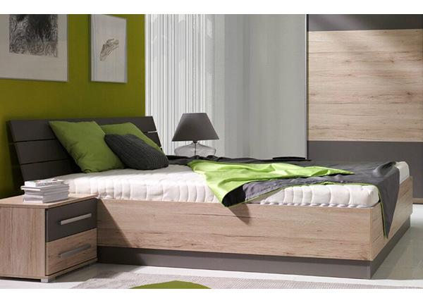 Sänky ylösnostettavalla pohjalla 160x200 cm TF-135967