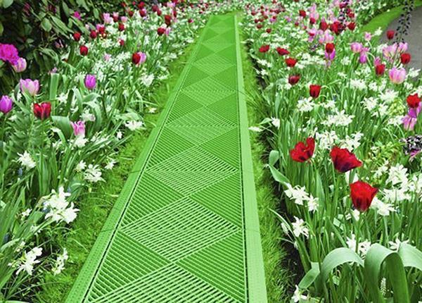 Koristeellinen ritilälaatta puutarhaan 2 kpl PR-136604