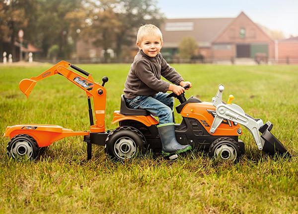 Pedaalidega traktor