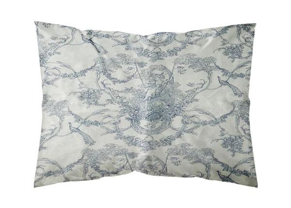 Tyynyliinat Blue Peafowl 50x60 cm, 2 kpl