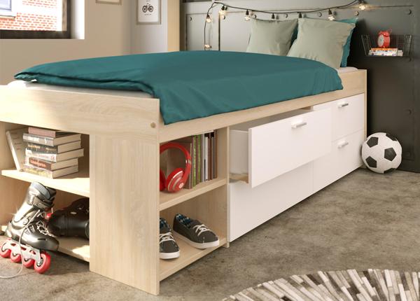 Кровать с ящиками Wake Up 90x200 cm