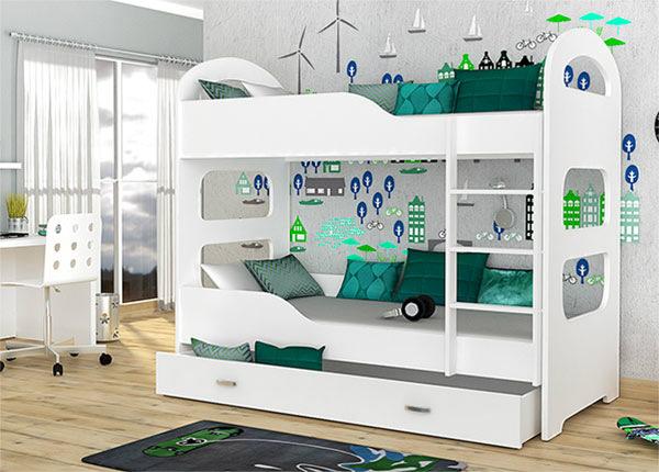 Двухъярусная кровать 80x160 cm + матрасы