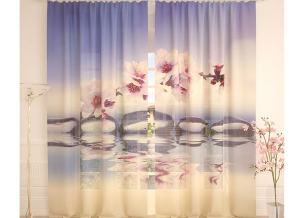Tylliverhot PLUM FLOWERS 290x260 cm AÄ-138254