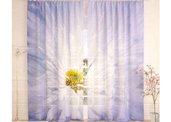 Тюлевые занавески White Big Flower 290x260 cm AÄ-138259