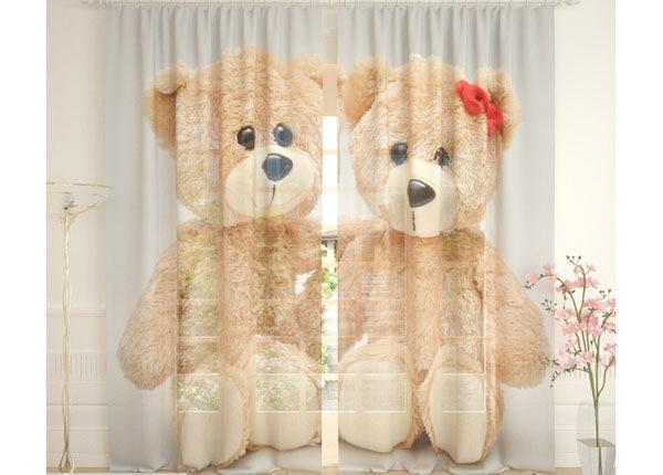 Tüllkardinad Teddy Bears 290x260 cm AÄ-138260