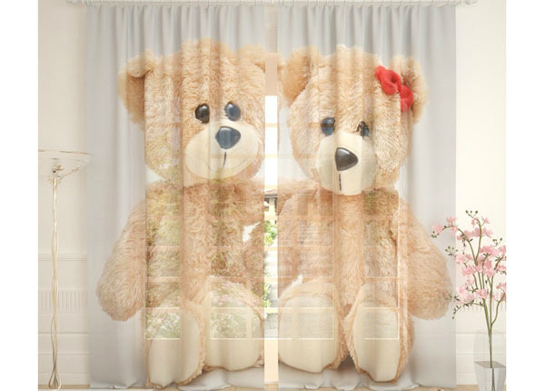 Tylliverhot TEDDY BEARS 290x260 cm AÄ-138260