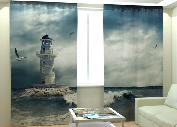Kuvaverhot LONELY LIGHTHOUSE 300x260 cm AÄ-138273