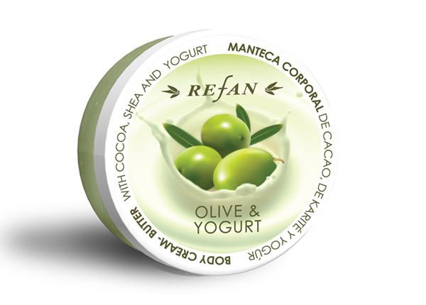 Kehakreem Olive and Yogurt 200ml
