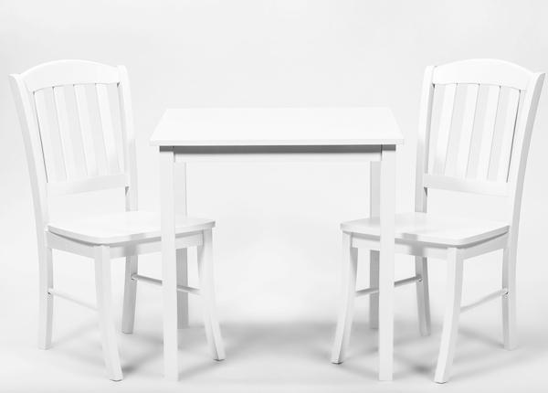 Ruokapöytä ROSELLA + 2 tuolia MONACO