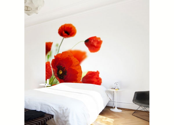 Fliis fototapeet Radiant Poppies