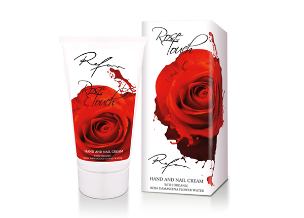 Käte- ja küüntekreem Rose Touch TQ-138595