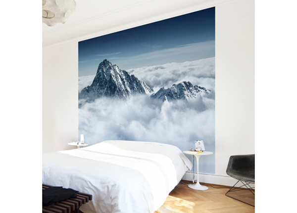 Fleece-kuvatapetti THE ALPS ABOVE THE CLOUDS 288x288 cm ED-138872