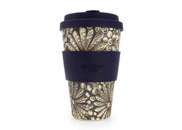 Kohvitops Ecoffee Cup Stein und Holz 400 ml