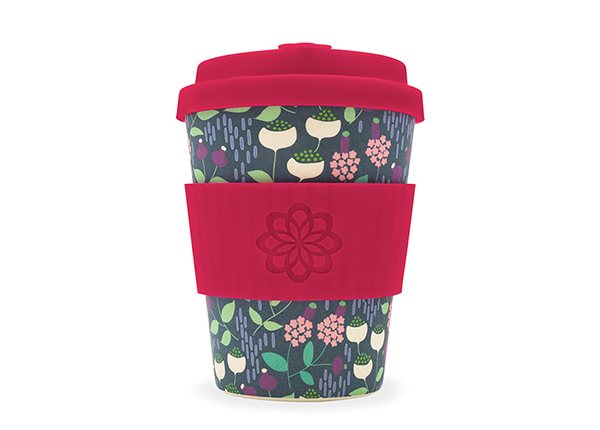 Kohvitops Ecoffee Cup Tiny Garden 340 ml
